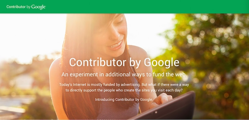 寄付をすると広告が消えるGoogle(グーグル)の『Contributor』