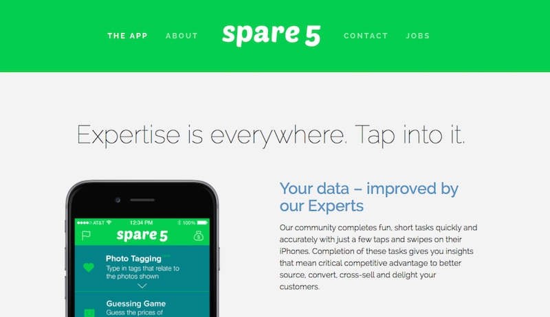 隙間時間で小銭が稼げるiphoneアプリ『Spare5』