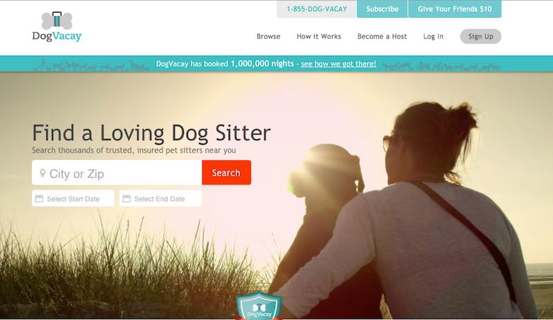 犬を預けたい人とペットシッターのマッチングサービス『DogVacay』