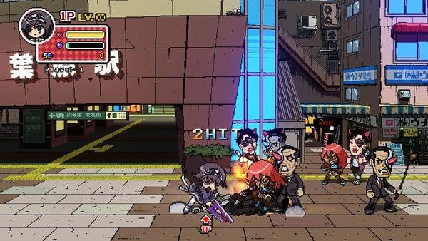 2D格闘ゲーム譲りの爽快アクション「ファントムブレイカー:バトルグラウンド」