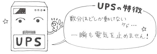 UPSの特徴