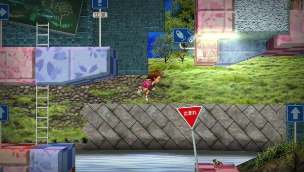 「さよなら海腹川背」は全てのグラフィックが3Dになり、プレイヤーキャラクターが増えたりと新しい要素が追加されている