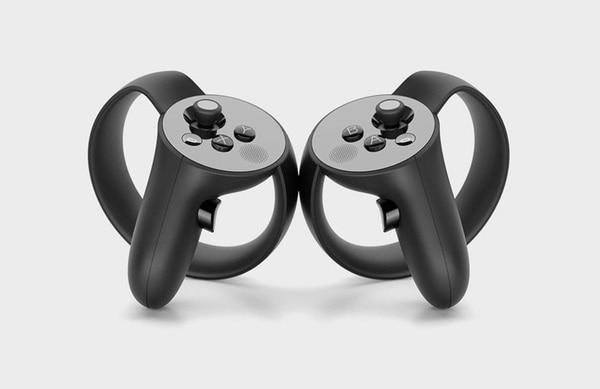 Rift専用コントローラーの「Touch」。こちらはまだ開発中