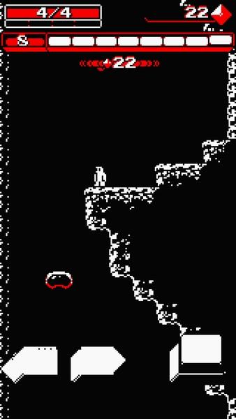 操作は左右移動+ジャンプ、さらにジャンプ中にジャンプボタンを押すと下方向にショットが撃てる。基本的にこれさえ覚えればプレイに差し支えなく、とてもシンプルだ。