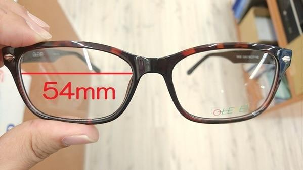 レンズサイズ54mm