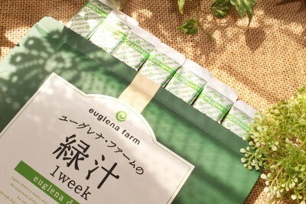 ユーグレナ・ファームの緑汁