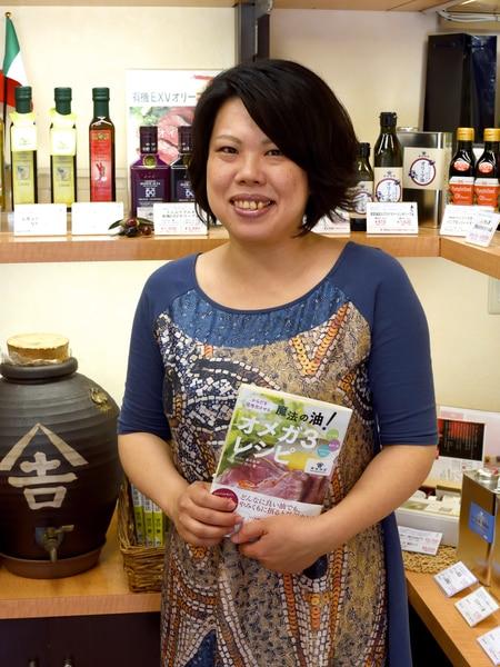 金田油店 店長の青木さん