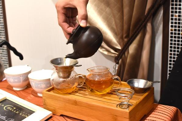 薬膳フレンチ ラ・ベルリュンヌ 中国茶
