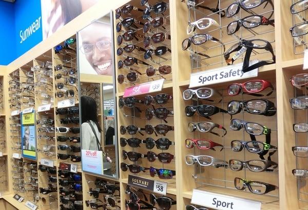 ウォルマート メガネ店