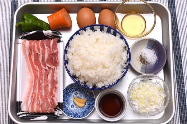 夏バテ予防 レシピ 豚肉のピリ辛ガーリックチャーハン