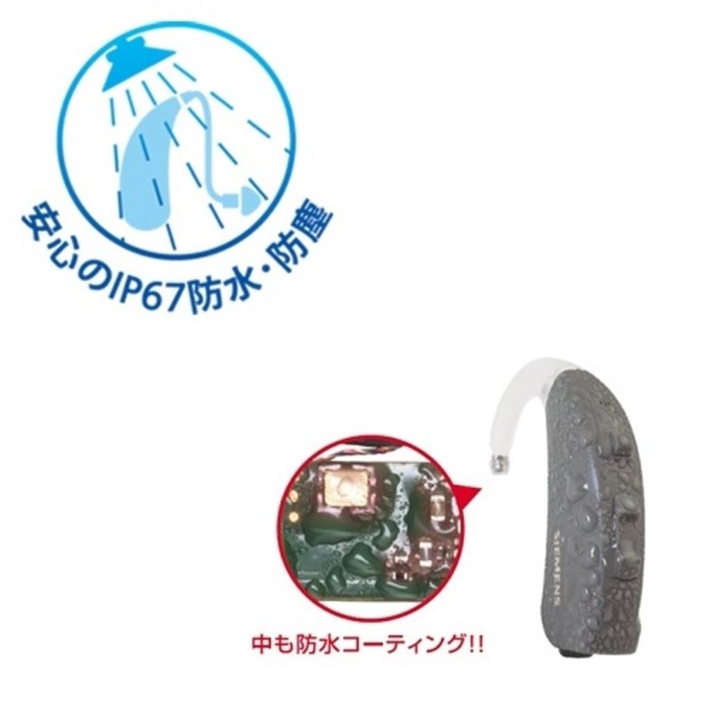 安心のIP67防水・防塵対応