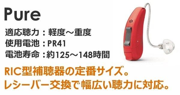 シーメンス・シグニア補聴器 プライマックス5 RICタイプ ピュア