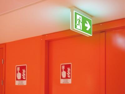 直流電源装置(消防法適合品) 利用シーン