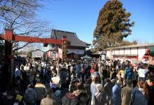 新年初詣 正月の参拝風景
