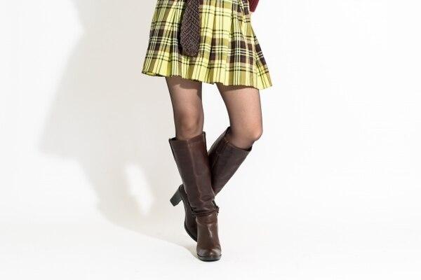 fitfit(フィットフィット) 黄色ミニ&ブラウンロングブーツ
