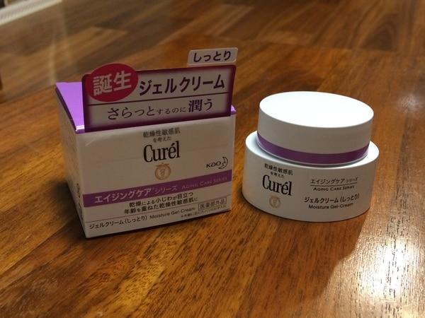 乾燥性敏感肌 キュレル エイジングケア ジェルクリーム