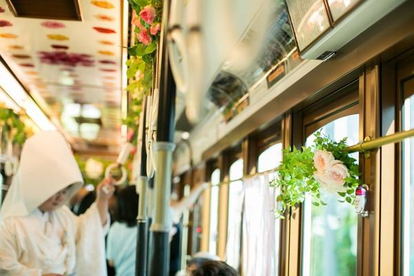結婚情報サイト メリマリ 電車 結婚式