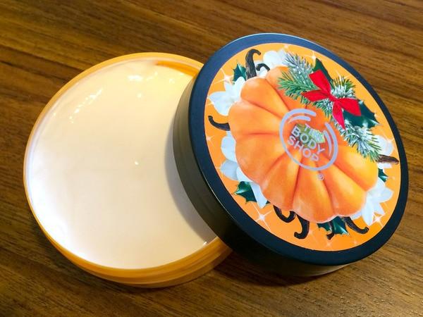 ザ・ボディショップ ボディバター ハロウィン バニラパンプキン