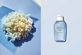 WASO SHISEIDO 自然素材 スキンケア