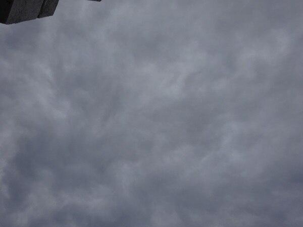 光ダクトの採光面積用模型実験時の天気