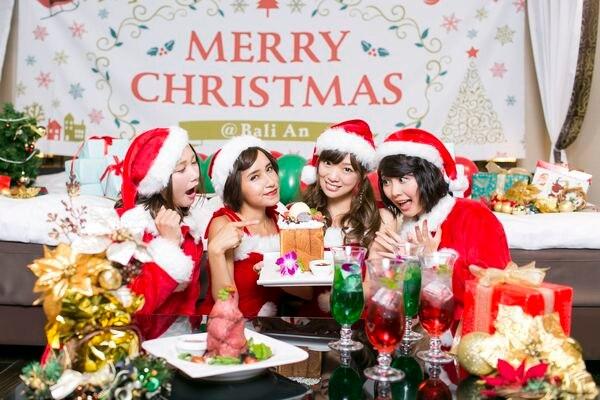 バリアンクリスマス女子会