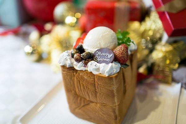 バリアン女子会の、ハーゲンダッツバニラを使ったクリスマスハニトー