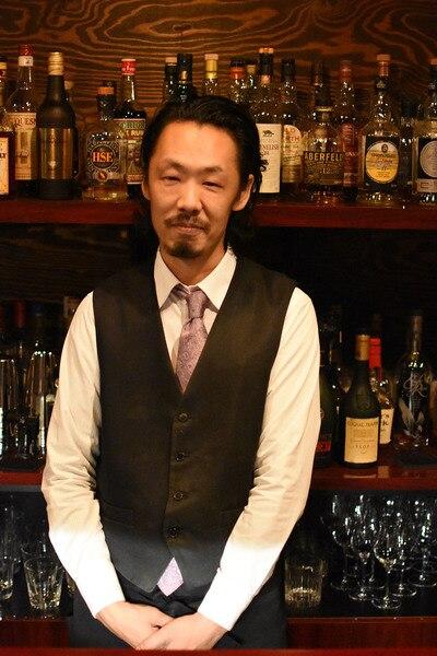 阿部雅高さん(東京・東小金井 バー・シークレット・ドア オーナー)