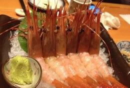 酒呑新館・牡丹蝦