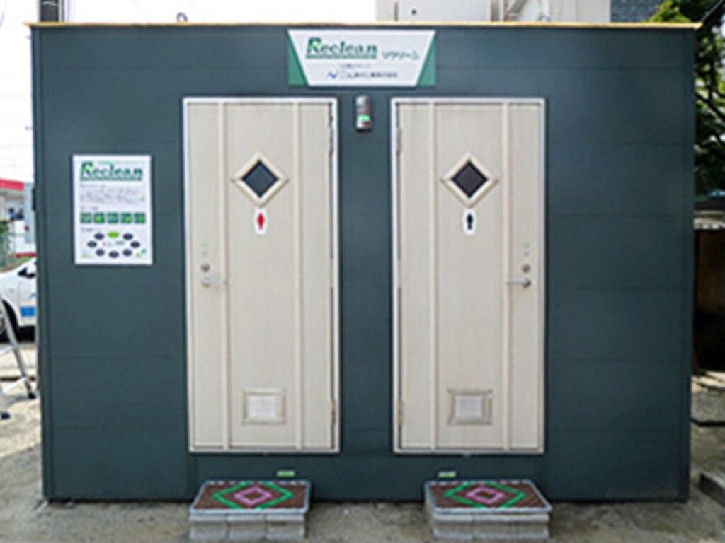 新世代移動式水洗トイレ導入事例 被災地・避難場所