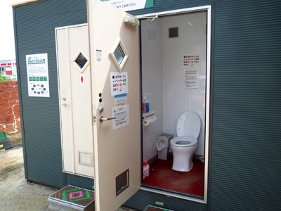 完全自己処理型水洗トイレ TOWAILET(トワイレ)導入事例 内装