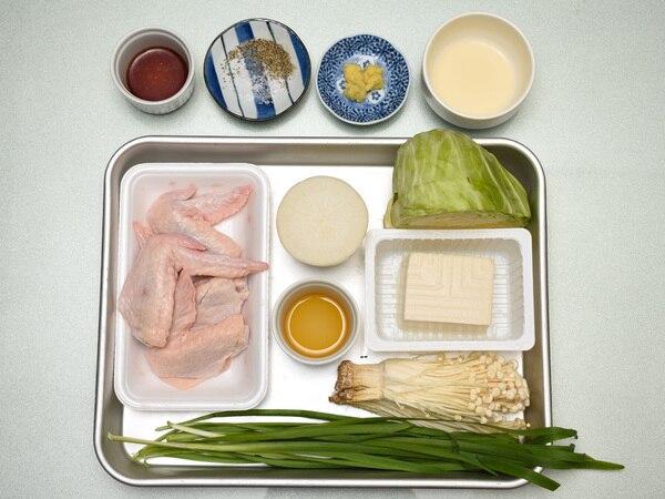 手羽先の生姜鍋