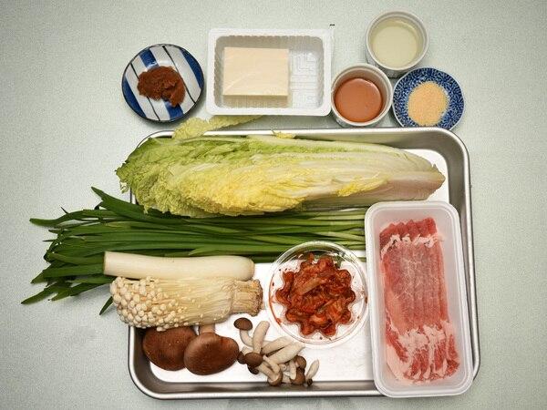 豚ロースキムチ鍋