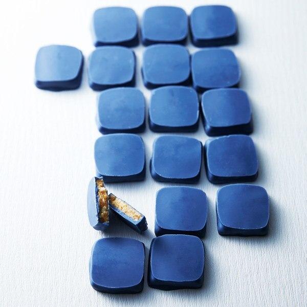「ケルノンダルドワーズ」のブルーのチョコレート