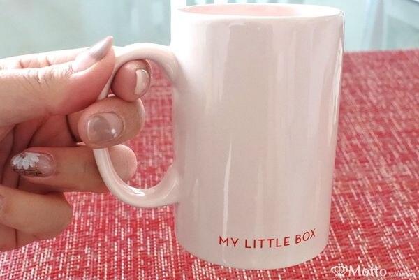 「マイリトルボックス(My Little Box)」に入っていたマグカップ