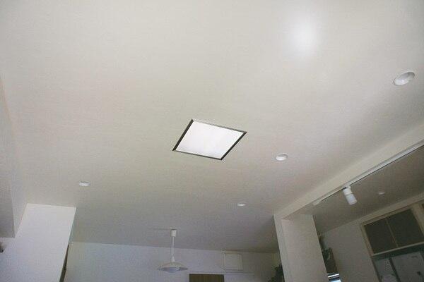 光ダクトの住宅事例 放光部