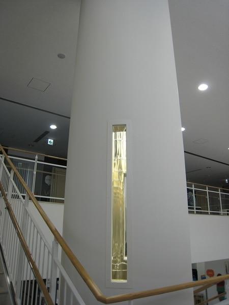 光ダクトの商業施設事例 導光部