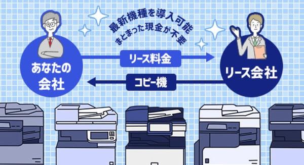 コピー機のリース契約の特徴
