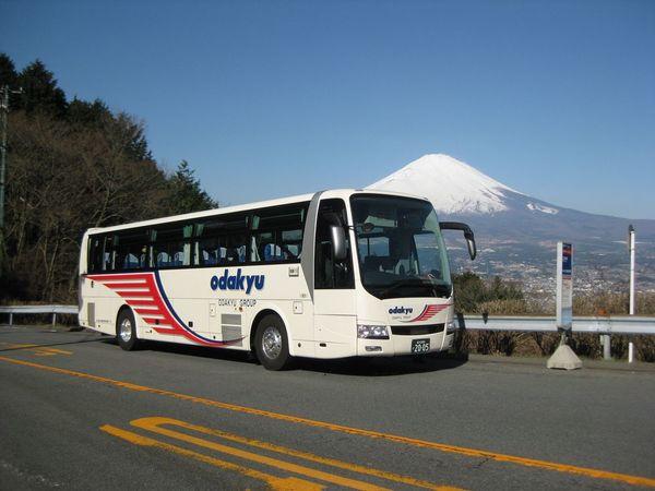 箱根へ高速バスで