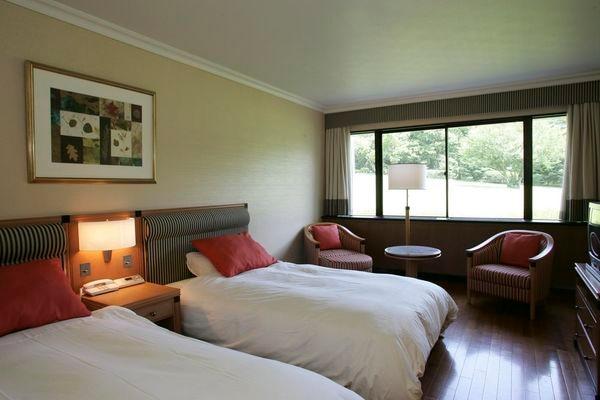 スイーツコレクションのプランで宿泊できるのは、本館のスタンダードツインのお部屋