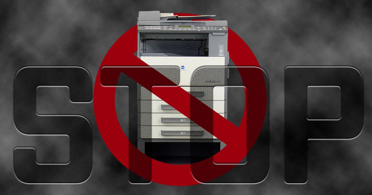 メーカーによって違う?購入してはいけない業務用コピー機のまとめ