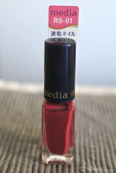 「Media(メディア)」のネイルで、RS-01(上品な美人ローズ)