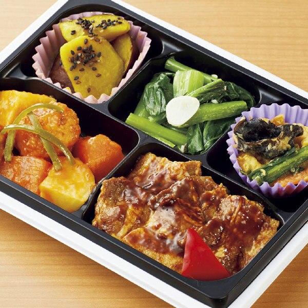 15品目のお惣菜セット(火曜日 主菜:ホイコーロー&野菜と鶏団子の甘酢あん)
