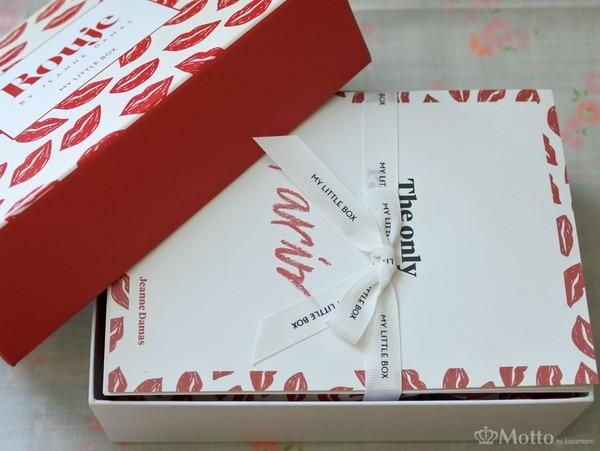 My Little Box(マイリトルボックス)3月の箱を開けたところ