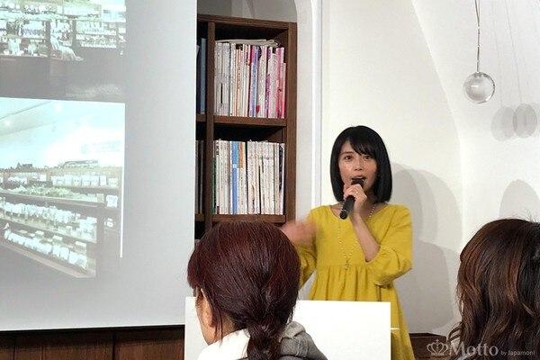 『アムリターラ』代表取締役社長の勝田小百合さん