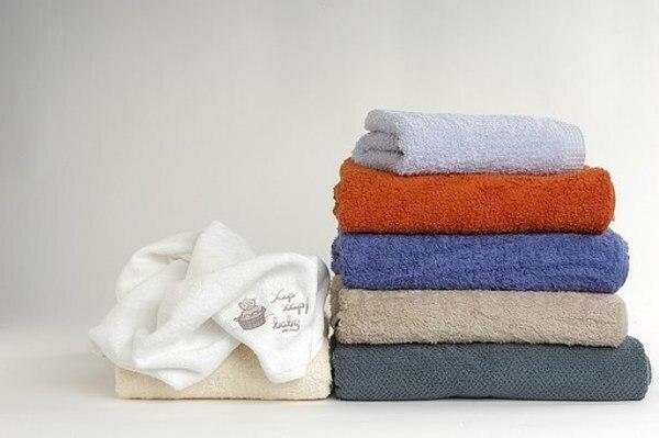 柔軟剤を使ってふわふわのタオル