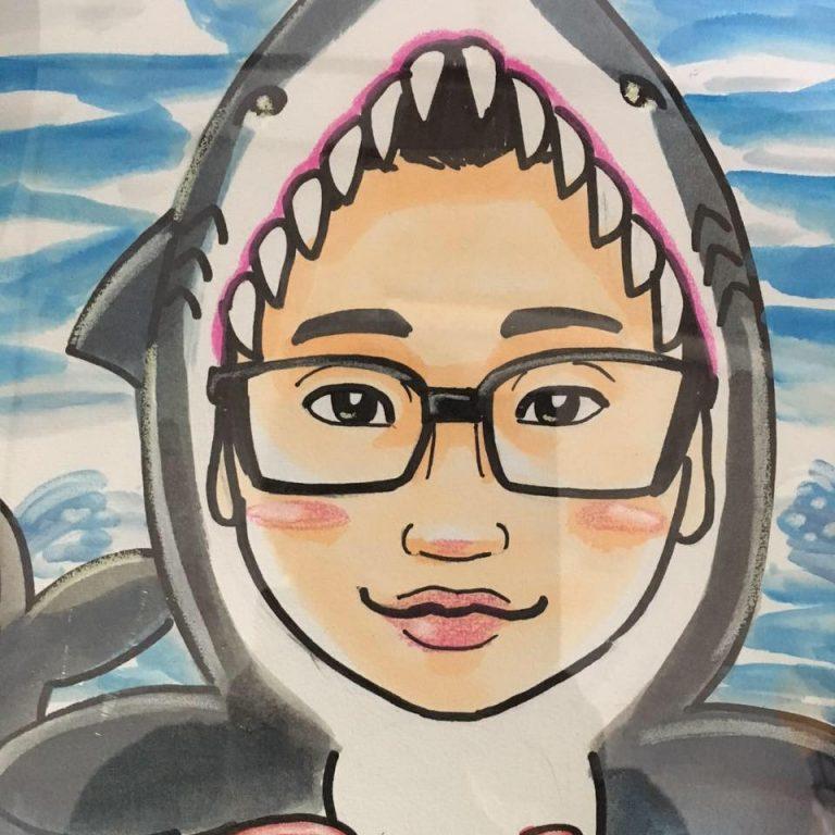 自称サメ社会学者Ricky