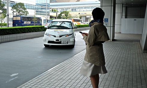 自動運転技術を活用した製品・サービス支援