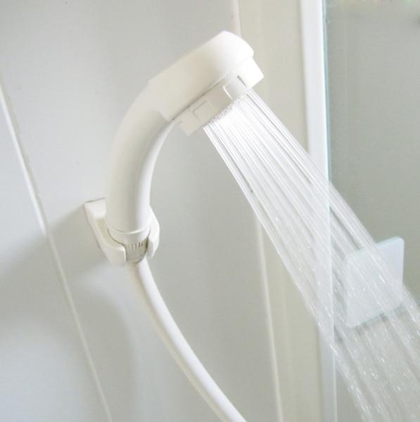 お風呂場などで濡れた手でも使える
