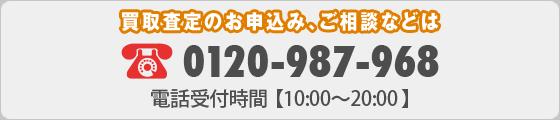 お申込み・ご相談などは、フリーダイヤル:0120-987-968 電話受付時間【10:00~20:00】