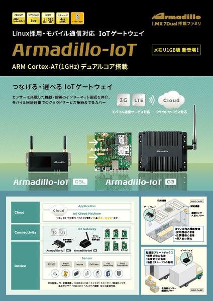 Armadillo-IoT 製品資料 表紙
